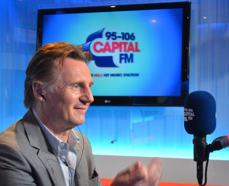 Liam Neeson At Capital