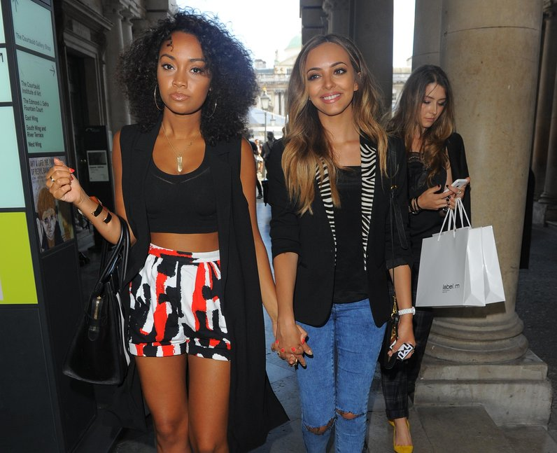 Little Mix London Fashion Week 2014