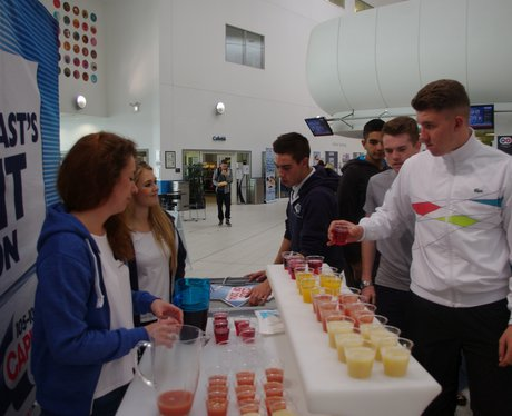 Mocktail Bar at Middlesbrough College