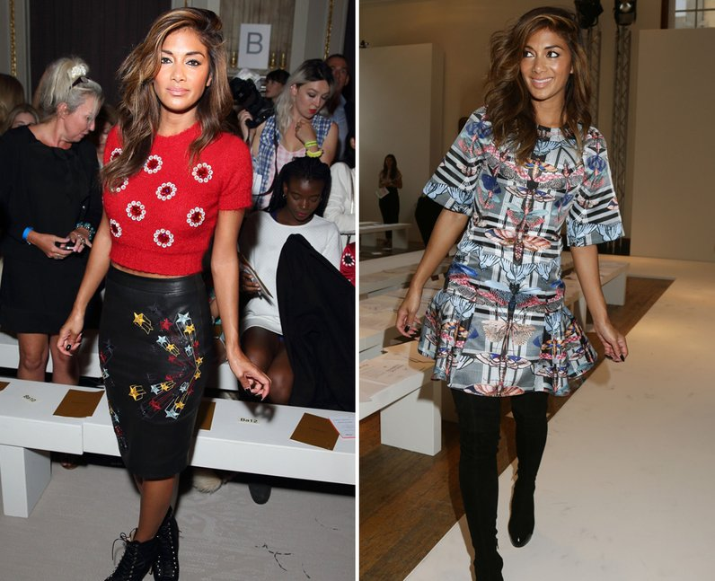 Nicole Scherzinger Fashion Week 2014
