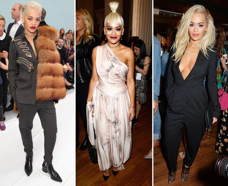 Rita Ora Fashion Week 2014