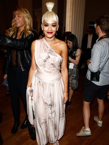 Rita Ora with a top not