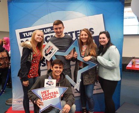 Capital FM at Bolton University Freshers Fair