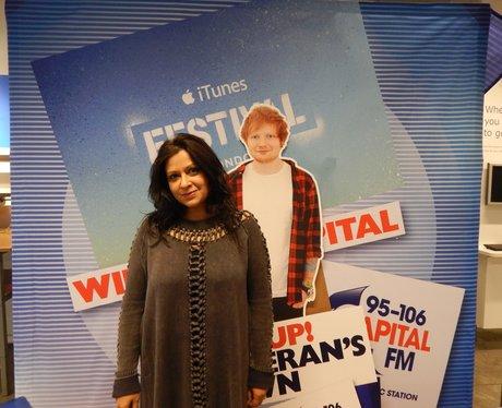 Capital FM At Manchester Ikea - Ed Sheeran Give Aw