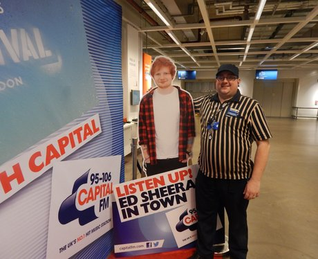 Capital FM At Manchester Ikea - Ed Sheeran Give Aw