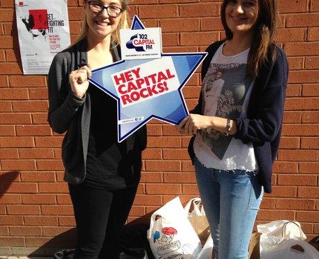 Capital FM at Manchester Met University Freshers F