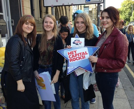 Capital FM at Manchester Met University Freshers F