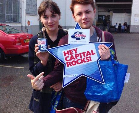 Capital FM At Salford Freshers Fair