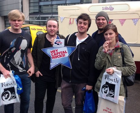 Capital FM At Salford Freshers Fair