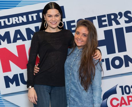 JessieJ Gig at 102 Capital FM Manchester