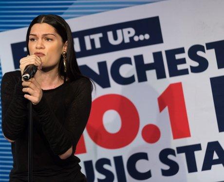 JessieJ Gig at 102 Capital FM Manchester