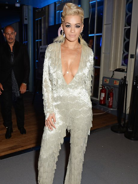 Rita Ora GQ Awards 2014