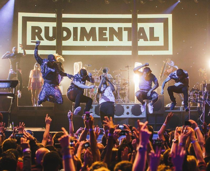 Rudimental at iTunes Festival 2014