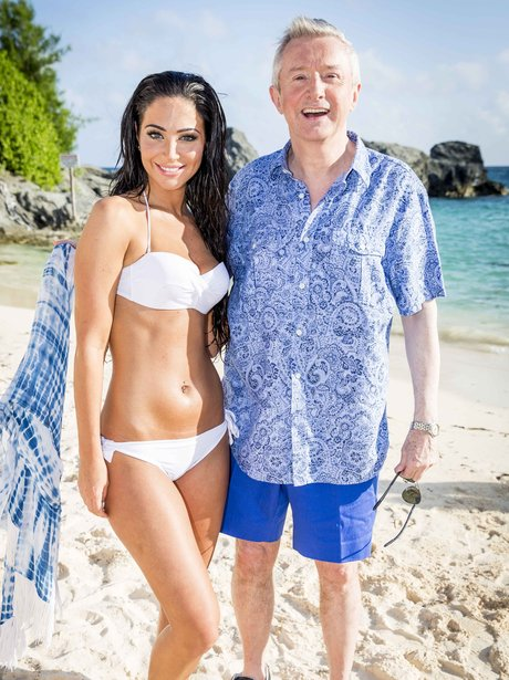Tulisa and Louis Walsh X Factor 2014