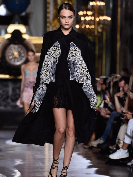 Cara Delevingne Fashion Week 2014