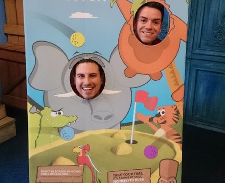 Des V's Steven at Paradise Island Adventure Golf!