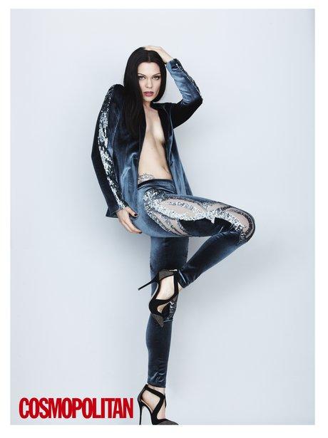 Jessie J Cosmpolitan Magazine 2014