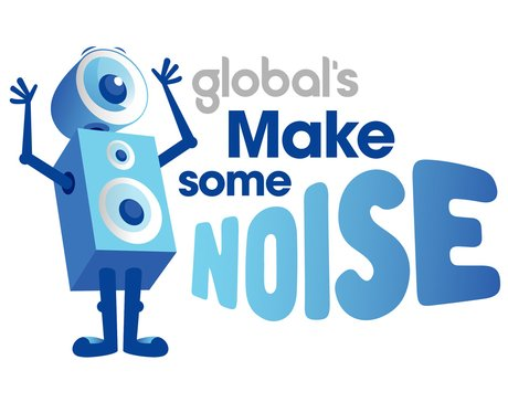 Make Some Noise Logo for Capital gallery