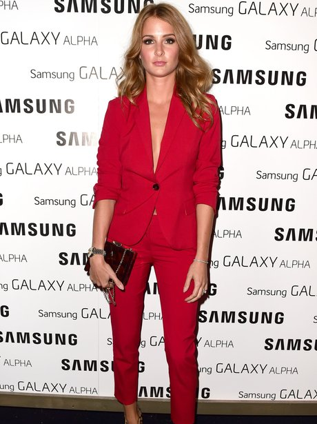Millie Mackintosh Red Suit