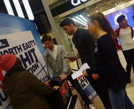Student Shopping at Eldon square