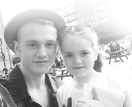Tristan The Vamps and Fan