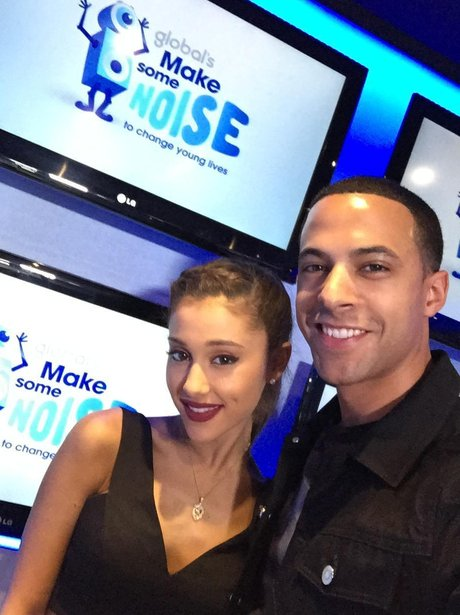Ariana Grande Marvin Humes Make Some Noise