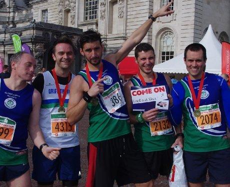 Cardiff Half Marathon - Finish (Part 1)