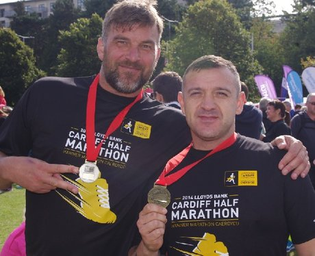 Cardiff Half Marathon - Finish (Part 2)