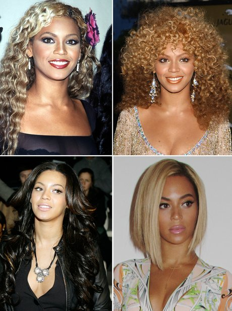 Beyonce's hair transformations