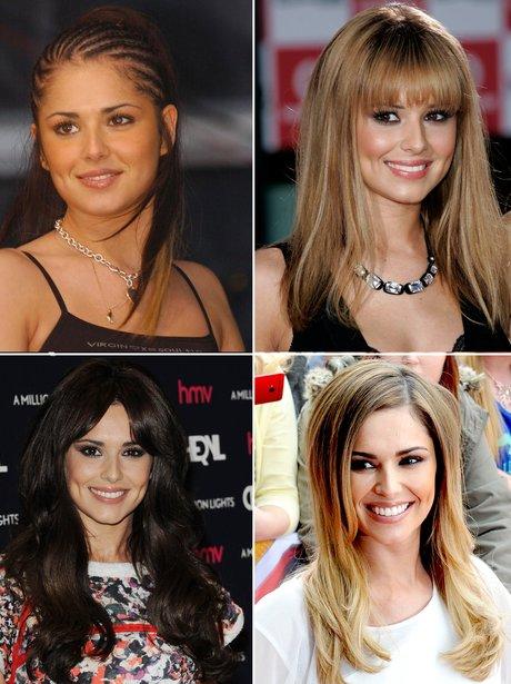 Cheryl Fernandez-Versini's hair transformations