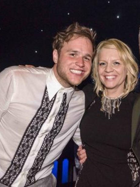 Olly Murs with his mum