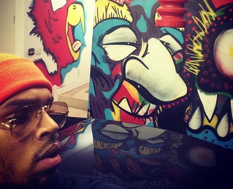 Chris Brown Art