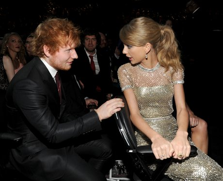 Ed Sheeran and Taylor Swift Grammys 2014