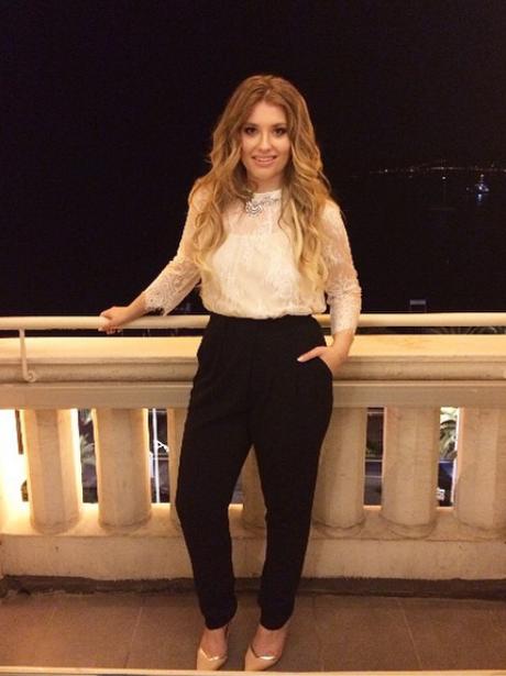 Ella Henderson in Cannes