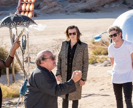 One Direction 'Steal My Girl' Video Shoot