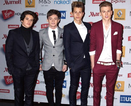 The Vamps Attitude Awards 2014