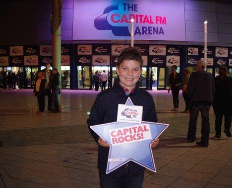 Ed Sheeran at Capital FM Arena 23rd Oct