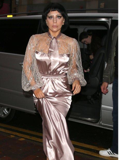 Lady Gaga Fringe Make Up