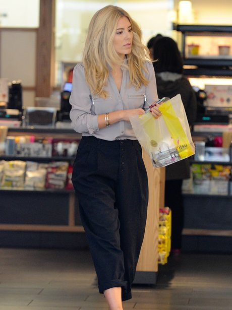 Mollie King Itsu Shopping