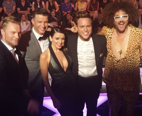 Olly Murs X Factor Australia Instgaram