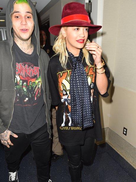 Rita Ora and boyfriend Ricky Hillfiger