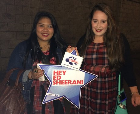 Capital FM at Ed Sheeran