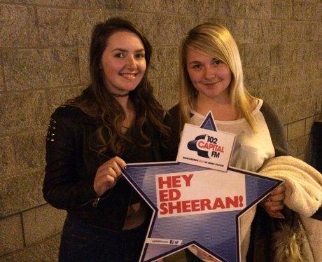 Capital FM at Ed Sheeran