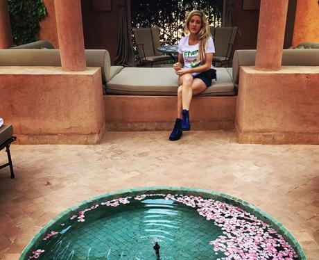 Ellie Goulding Fountain