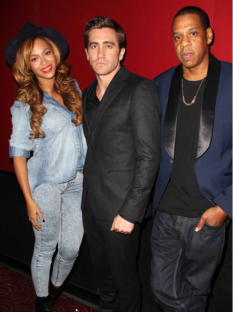 eyonce Knowles, Jake Gyllenhaal and Jay Z