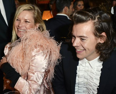 Harry Styles and Kate Moss