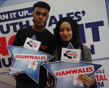 #iamwales @ Red Dragon Centre