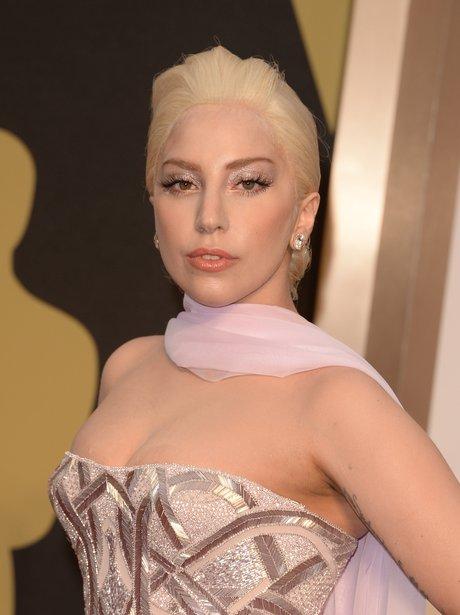 Lady Gaga Oscars 2014