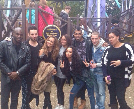 Little Mix at thorpe park