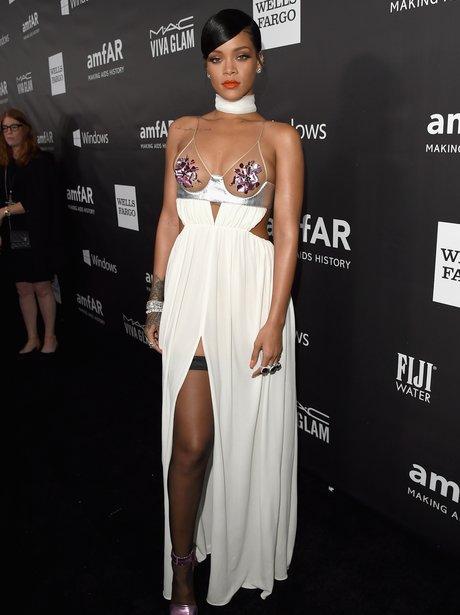 Rihanna attends Gala